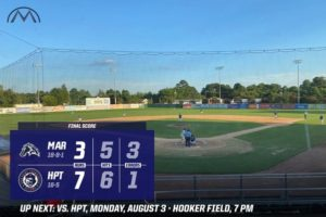 Three Homers Not Enough for Mustangs In 7-3 Loss to HiToms