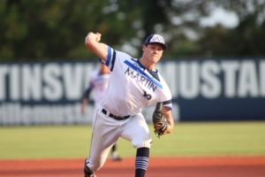 Halligan, Fink Push Mustangs by Pilots 7-1 for First Road Win