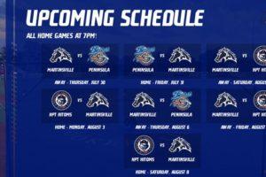 Updated 2020 Schedule