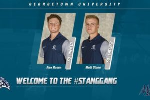 Mustangs Add Georgetown Duo to Roster