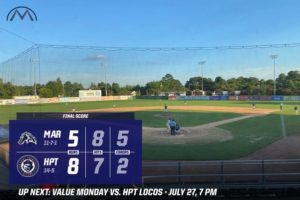 Errors Doom Mustangs In 8-5 Loss to HiToms