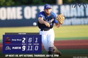 Mustangs Down Muddogs 9-2 In Non-Conference Play