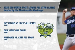 Martinsville Mustangs Set to Host Old North State League All-Star Classic at Hooker Field