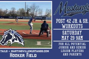 Post 42 American Legion Tryouts Scheduled for Saturday