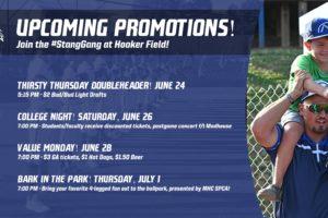 The Week Ahead at Hooker Field!