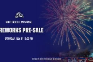 Fireworks Show set for Saturday, July 24 – TICKETS ON SALE NOW!