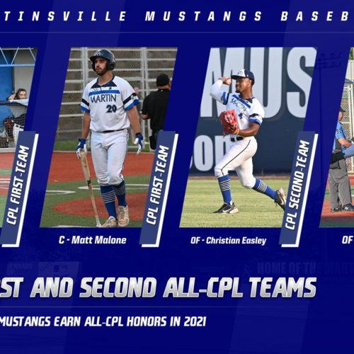 Four Mustangs Recognized On 2021 All-CPL Teams